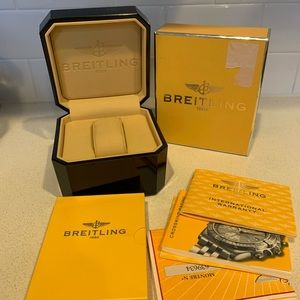 Breitling Watch box with booklets